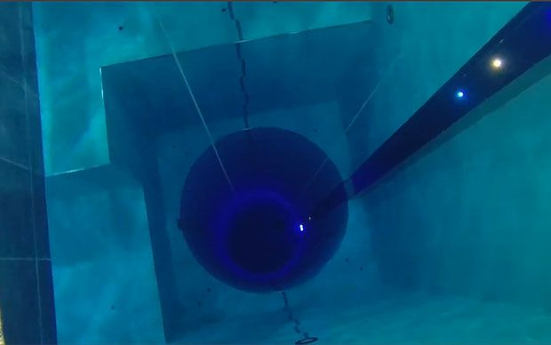 Dare You Peer Into The Depths Of Y 40 The World 39 S Deepest Swimming Pool Otherwise Known As The
