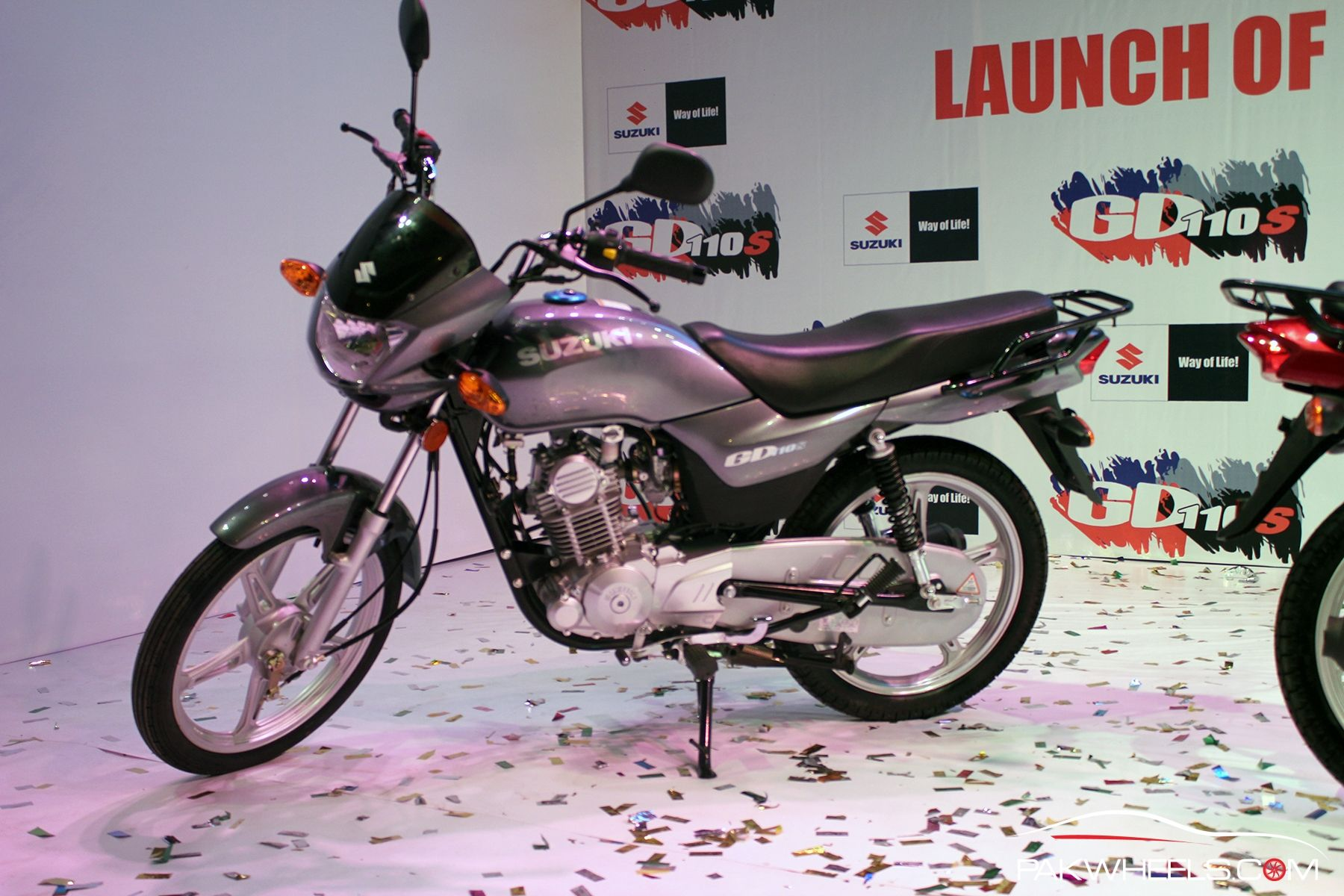 Pak Suzuki launches the upgraded Suzuki GD110S PakWheels