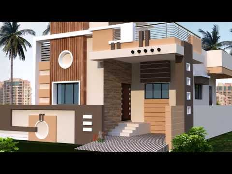 Most Beautiful Small Homes Youtube Simple House Design Small House Elevation Design Small House Front Design