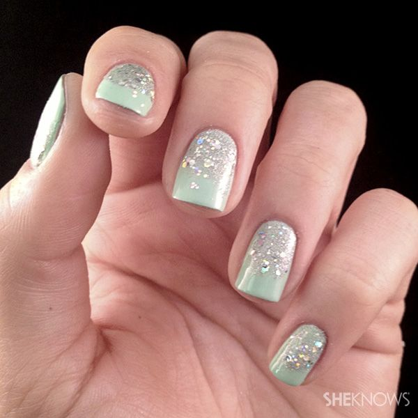 Get sparklicious glitter gradient nails gradient nails and amazing nails prinsesfo Image collections