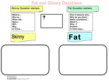 Fat question starters