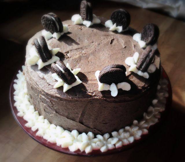 Bake Sweets, not War: Tarteando VIII: Tarta de chocolate con  oreo
