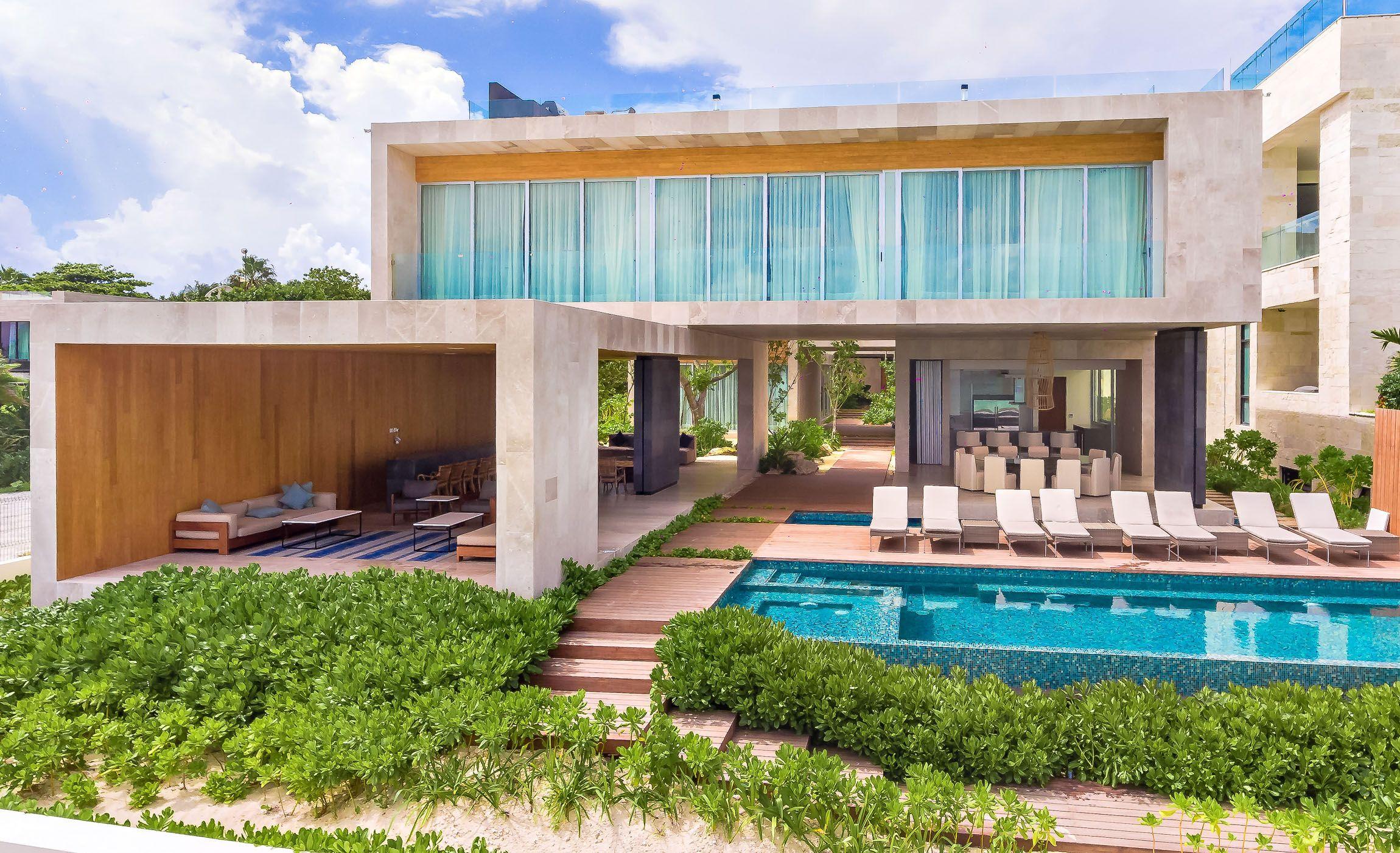 Villa Kin Ich Playa Del Carmen Riviera Maya Mexico