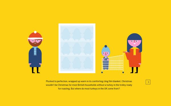 Websites Featuring Flat Illustrations Best Examples