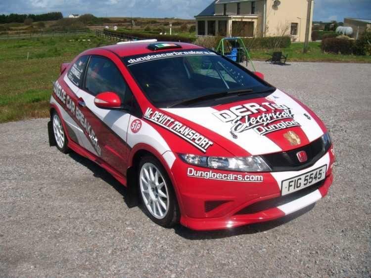 Honda Civic Type R Fn2 Rally Car Newly Built 2011 Grp N Custom