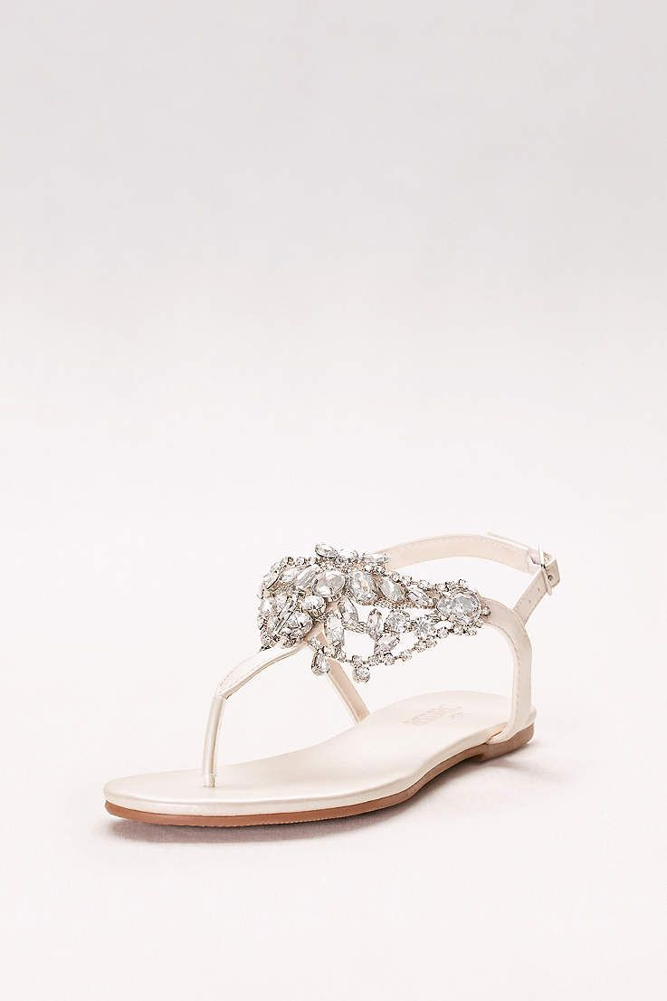 925f8bfc6d0a30 View Crystal-Embellished T-Strap Thong Sandals WAVERLY