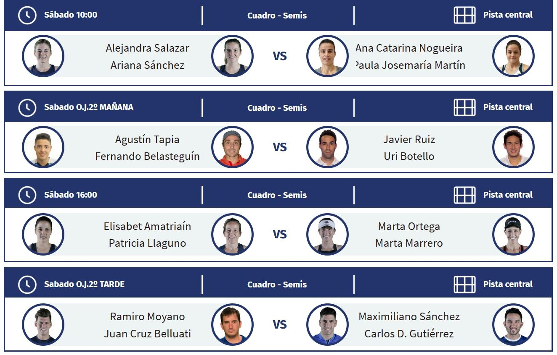Semifinales Wpt Madrid Máster Padelstar Padel Logroño Alicante