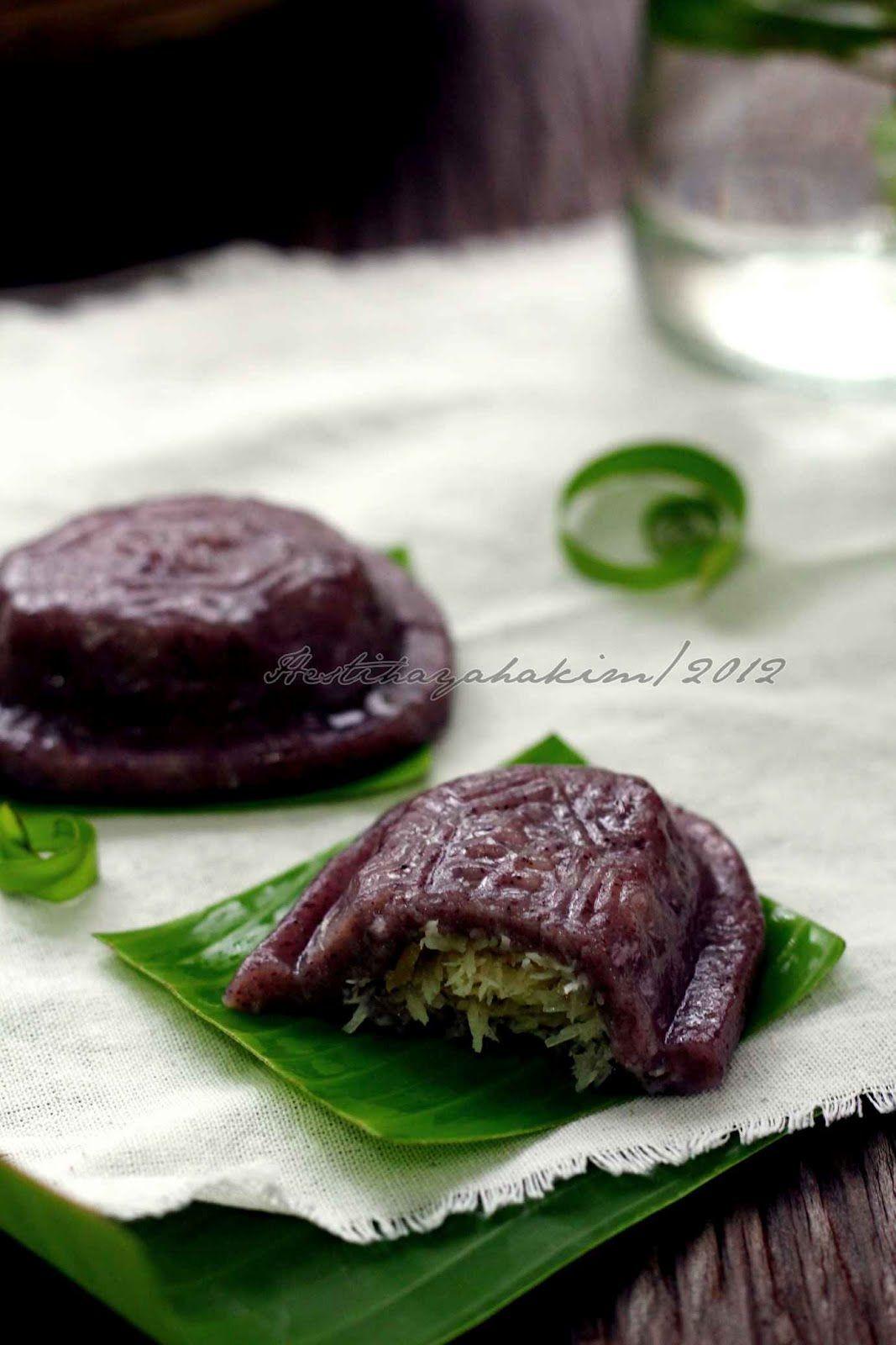 Hesti S Kitchen Yummy For Your Tummy Kue Ku Ketan Hitam Resep Masakan Indonesia Kue Makanan Dan Minuman