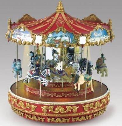 Mr Christmas Triple Decker Carousel | CAROUSELS | Pinterest | Mr ...