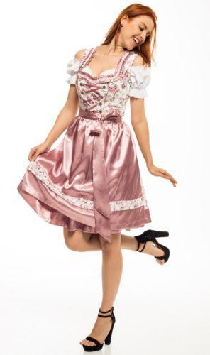 4ea340717251a4 05-Trachten-Dress-3tlg-Dirndl-Oktoberfest-Size-34-36-38-40-42-44-46-48-50-52
