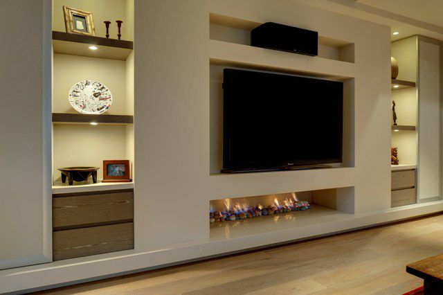 Real Flame Living Room Wall Units Bedroom False Ceiling Design Luxury Living Room