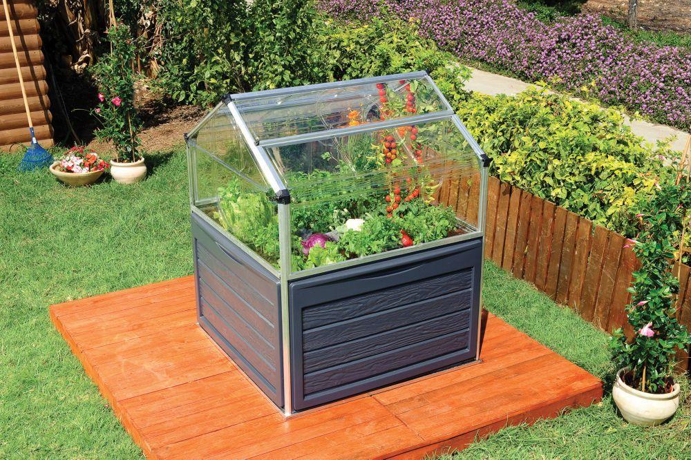 Plant Inn Greenhouse Raised garden beds, Elevated garden