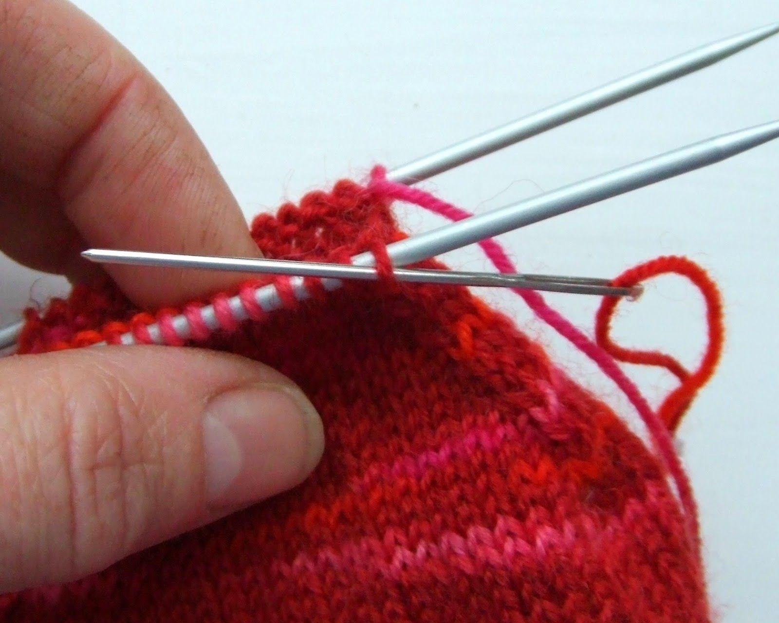 Basic 4ply sock pattern and tutorial - easy beginner sock knitting ...