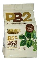 PB2 has the same consistency as full fat peanut butter with all of the natural roasted peanut flavor, but with nearly 85% less fat calories. PB2 is made with high quality peanuts that are slow-roasted and pressed to remove the oil. All natural with no artificial flavors,sweeteners, or preservatives.