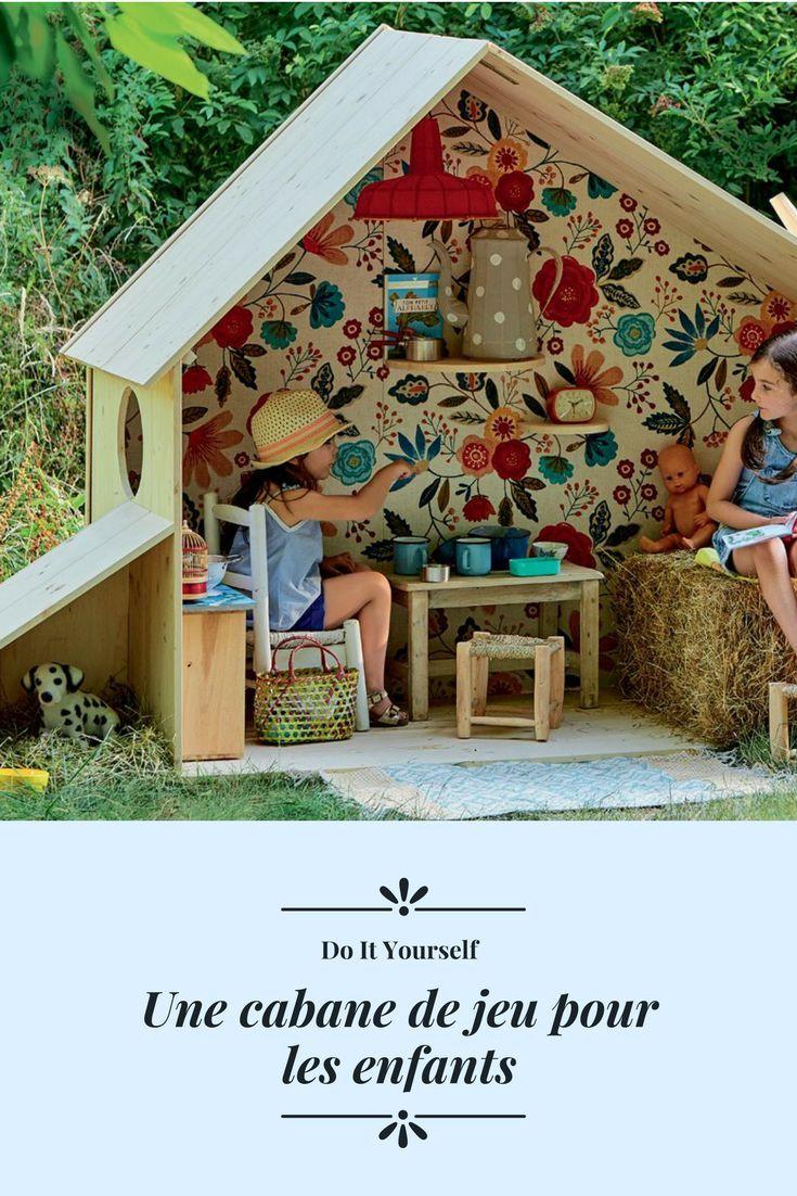 Construire cabane de jardin pour enfant home diy projects pinterest - Construire cabane jardin ...