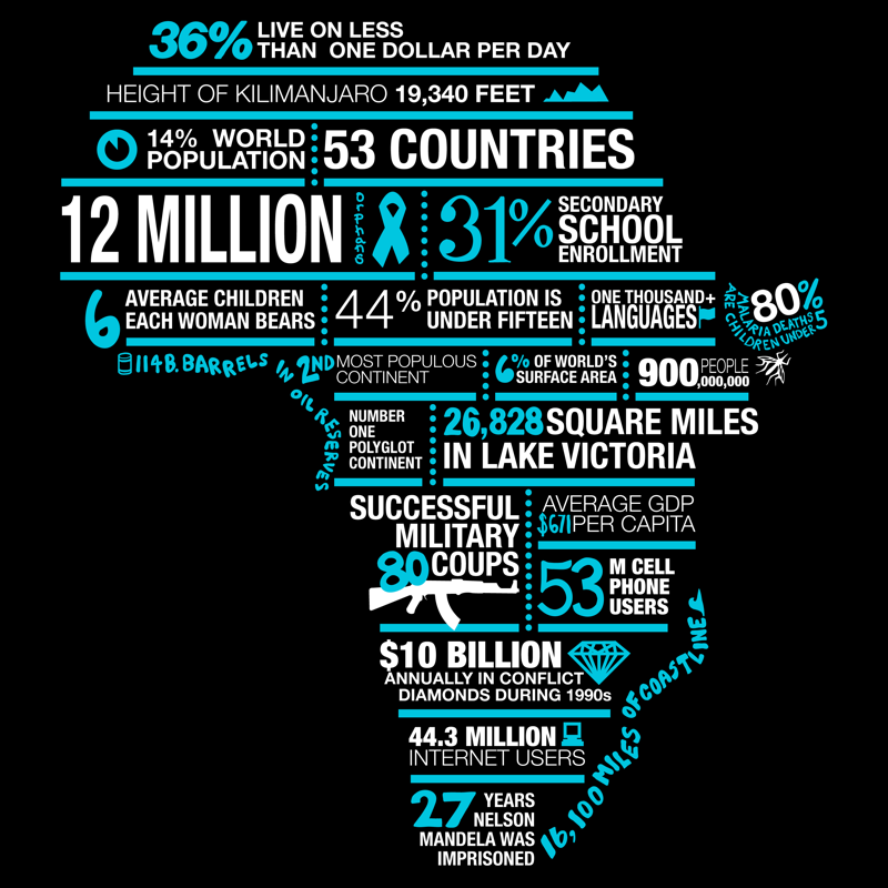 Africa in words   Secondary schools, Facts and Fundraising