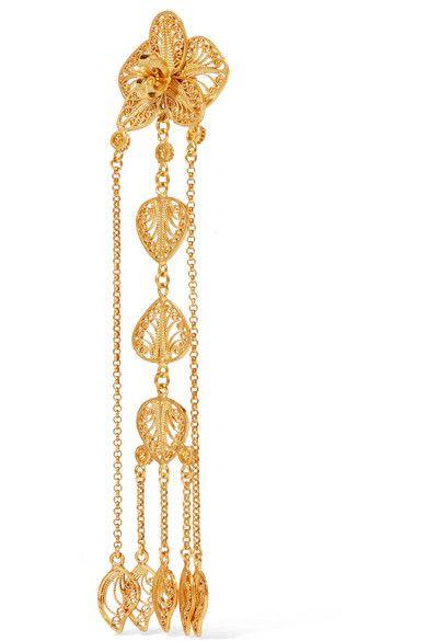 Mallarino Orquídea Gold Vermeil Earrings JK41WNaj9V