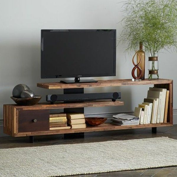 Interior Design TV cabinet with a cool design for a modern living ...