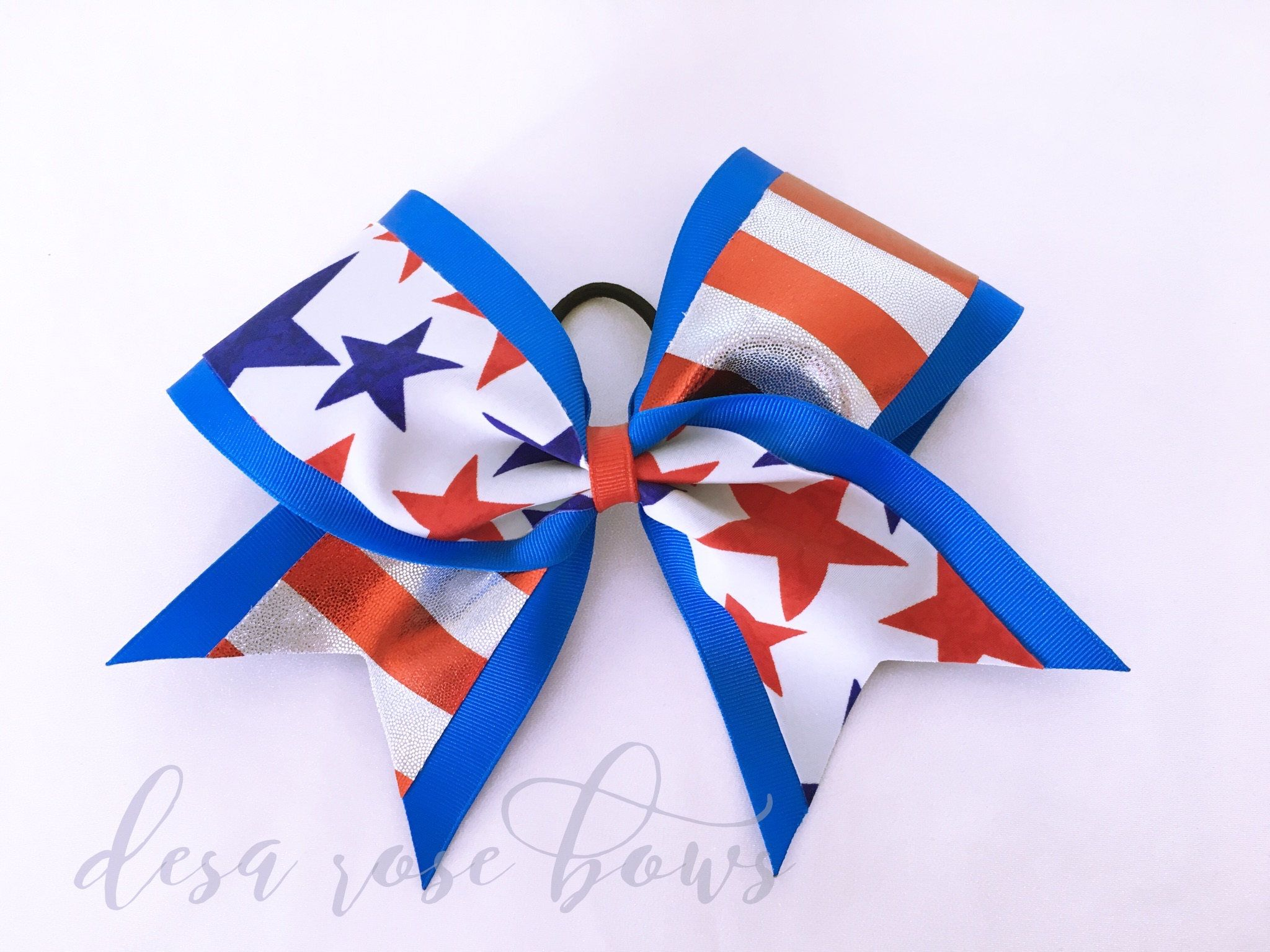 cheerleading hair styles and stripes bow by desarosebowtique on etsy desa 6318