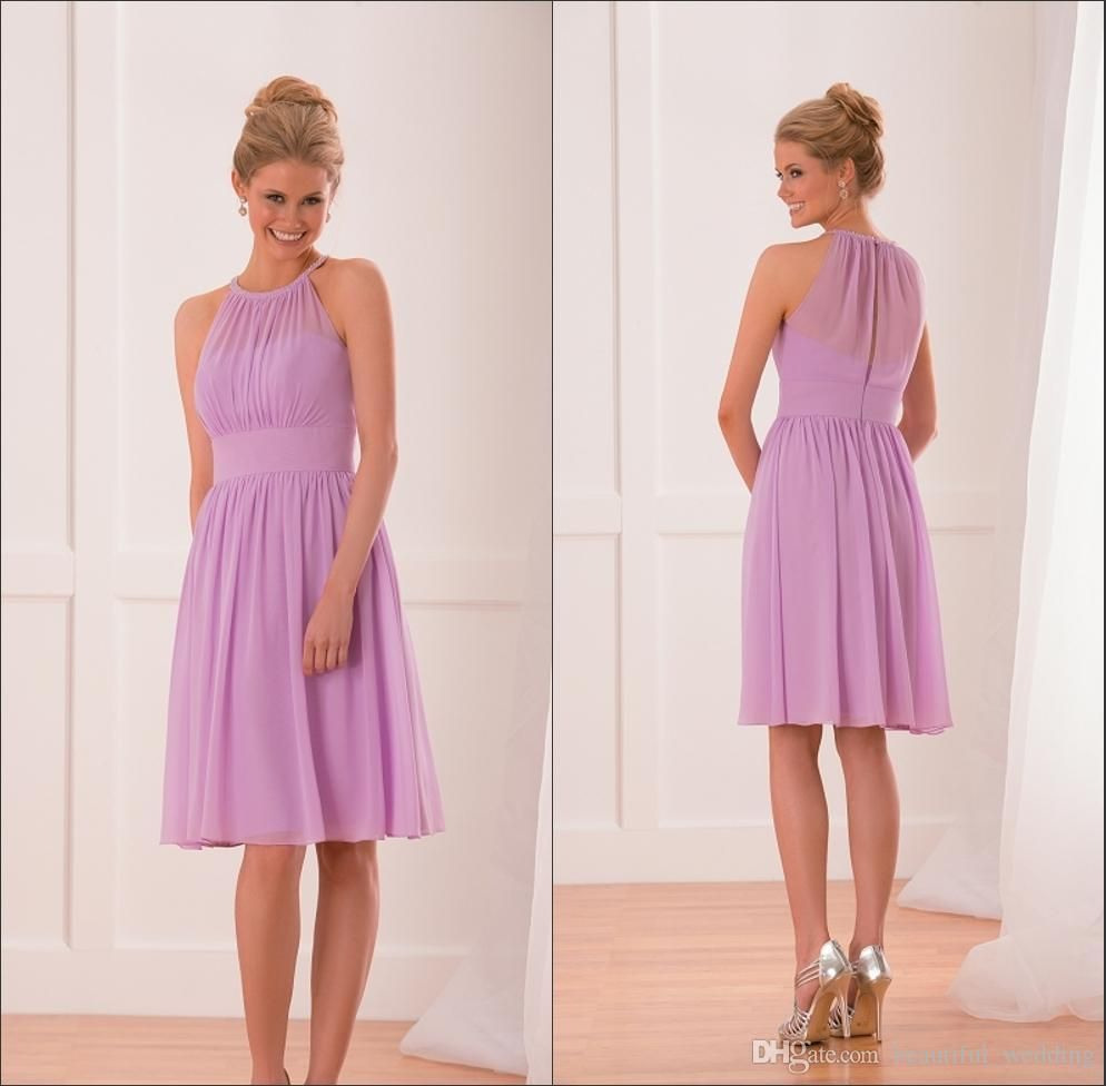 Cheap 2015 short lilac bridesmaids dresses custom a line cheap 2015 short lilac bridesmaids dresses custom a line sleeveless short maid of honor knee length bridesmaid dresses under 100chiffon ombrellifo Image collections