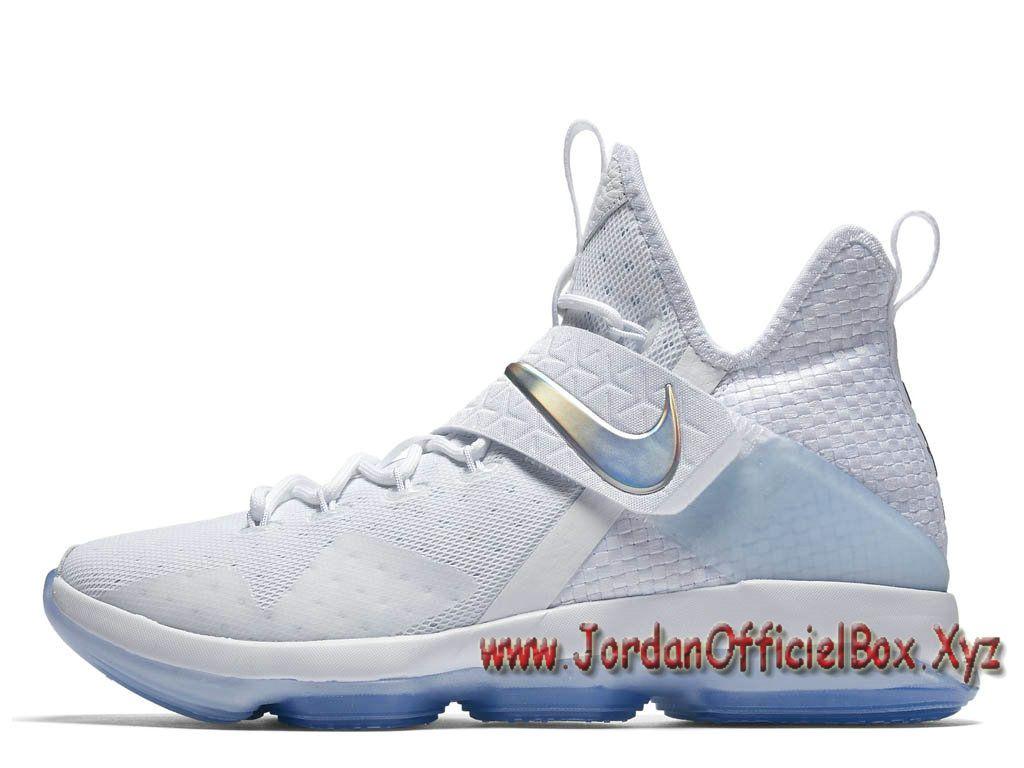 premium selection b5d8b 7eb46 Nike Lebron 14 Time to Shine 860631-900 Homme Nike Lebron Pas cher Pour  Chaussures Blanc-Jordan Officiel Site,Boutique Air Jordan 2017!Accept  Paypal!