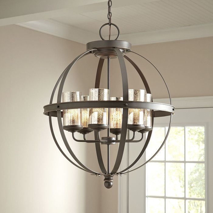 Modern contemporary chandeliers allmodern farmhouse