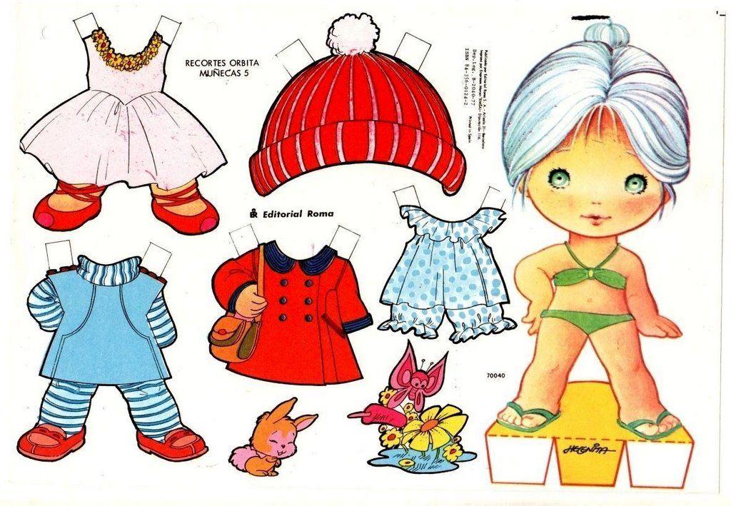Cabecudas Editorial Roma Bonecas De Papel Vintage Vestidos De Boneca Bonecos De Papel