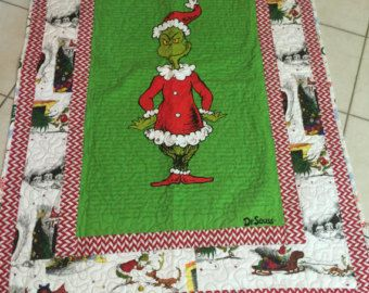 Grinch Story Quilt - Edit Listing - Etsy