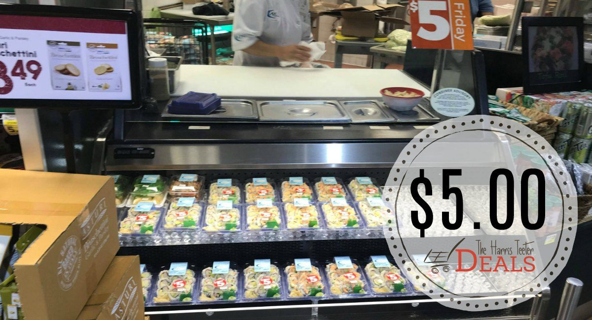 It S Sushi Friday At Harris Teeter Only 5 00 The Harris Teeter Deals Harris Teeter Sushi Clean Recipes