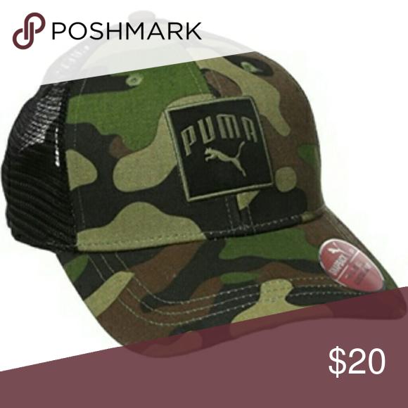 11f95eefd80 PUMA camo truckers hat.. PUMA camo truckers hat