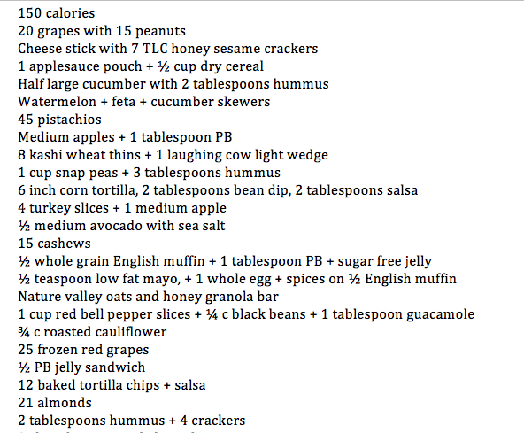 shred the revolutionary diet food list