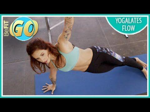 Yogalates Flow #Workout: 10 Min- BeFiT GO #yoga