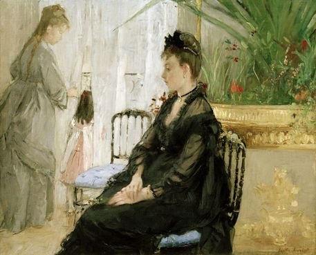 'The fable', 1883, by Berthe Morisot - Google Search