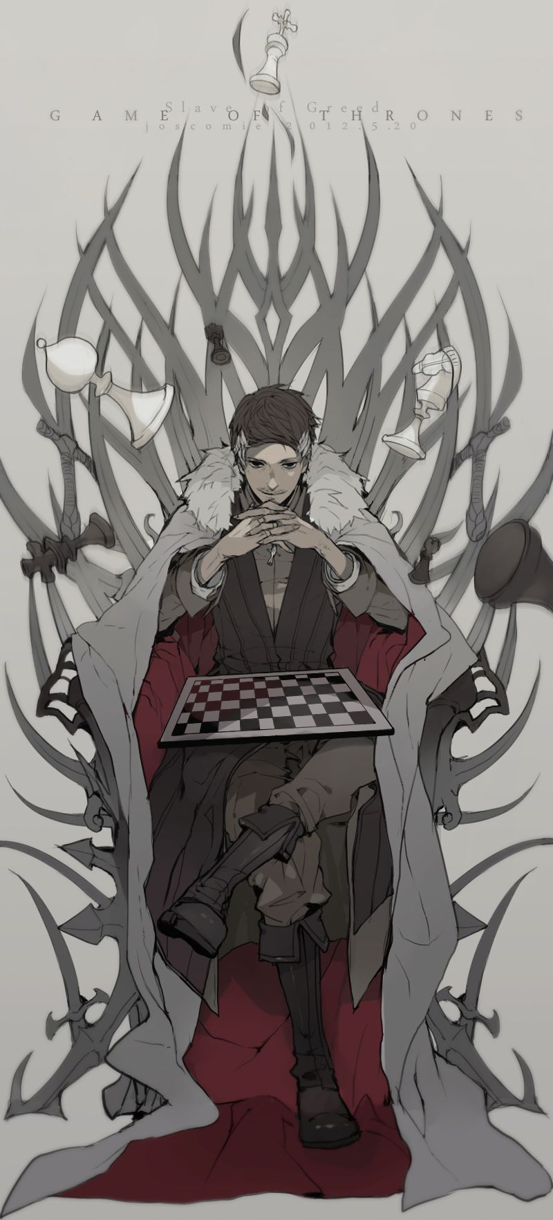 Little Fingers Game Of Throne Baelish Art Game Of Thrones Fans Anime