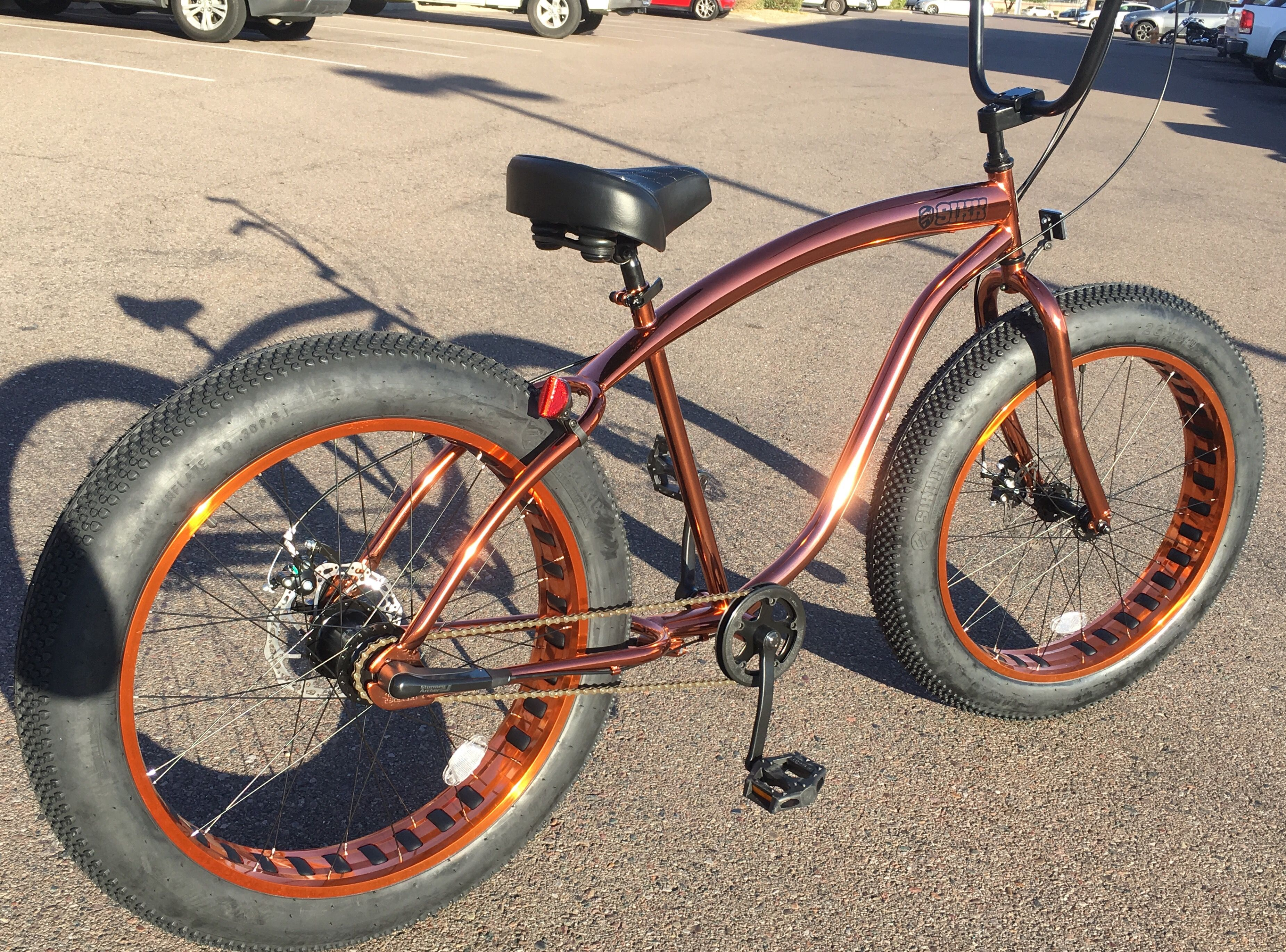 Pin On Sikk Copperhead Fat Tire Cruiser