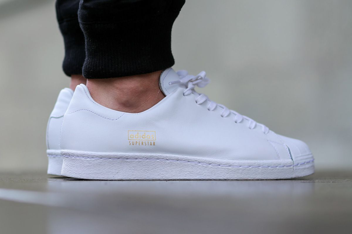 "adidas Superstar 80s Clean ""White"" •"