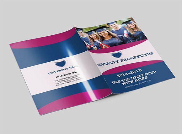 College University Prospectus-V77 Brochure template and Brochures