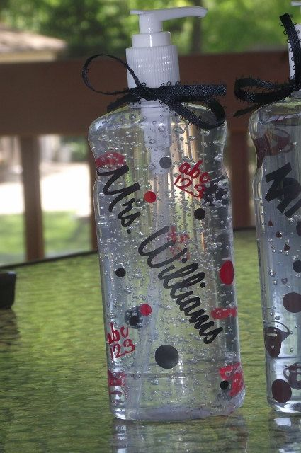 Personalized Hand Sanitizer Teachers Gift Ideas By Allstickeredup