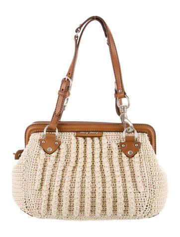 Miu Miu Crochet Frame Bag w/ Tags