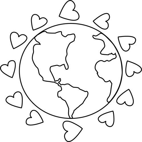 Image result for love the earth clipart