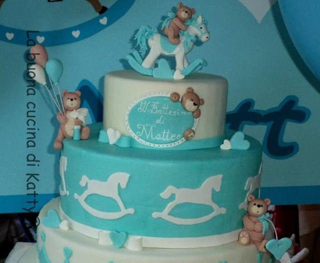 Cavallo A Dondolo Pasta Di Zucchero.Katty S Cakes Le Torte Di Katty Torta Cavallini A