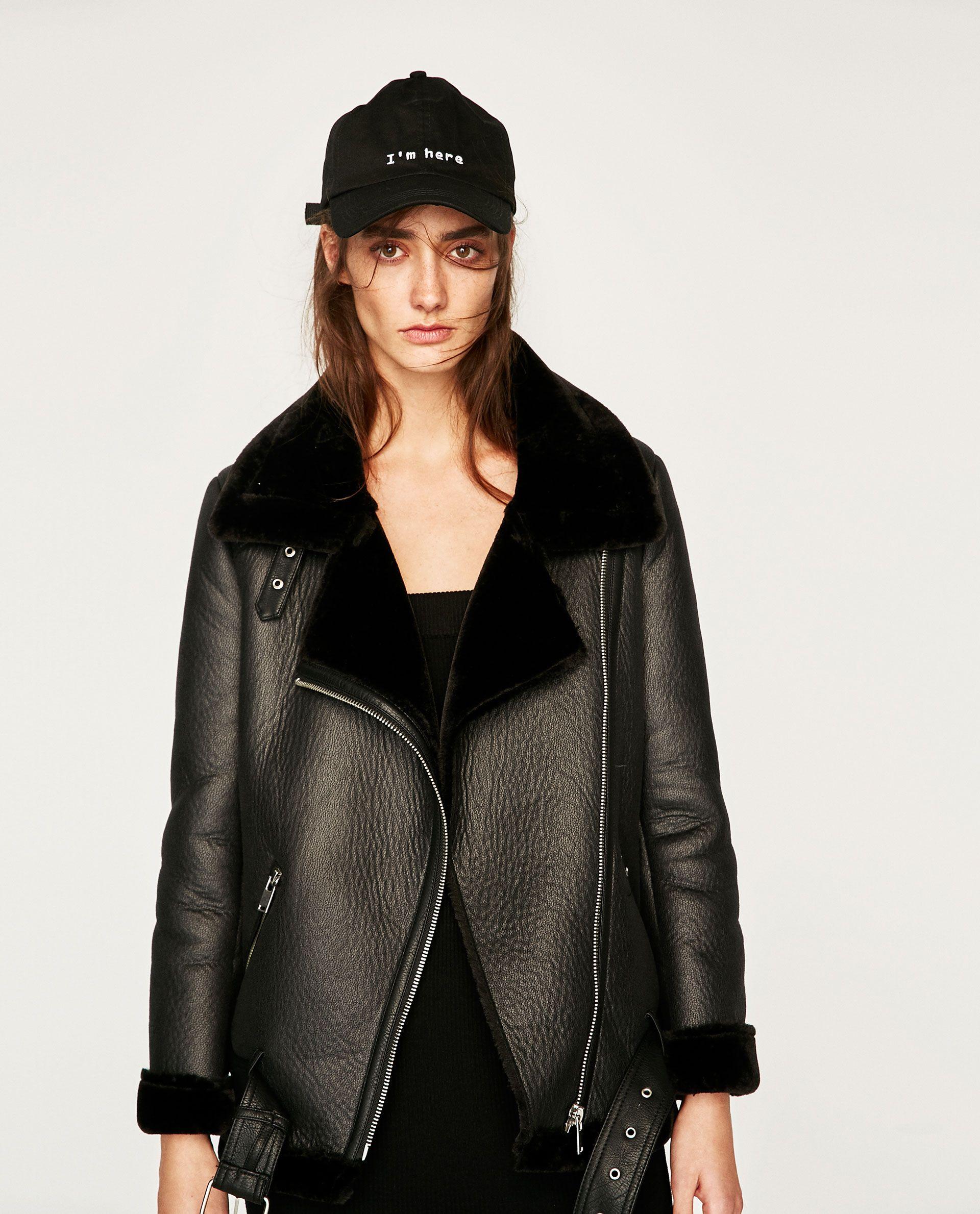 Image 6 of BIKER JACKET from Zara Zara biker jacket
