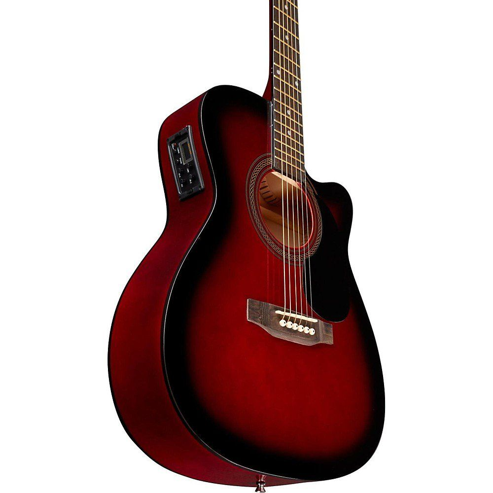 Rogue Ra 090 Concert Cutaway Acoustic Electric Guitar Walmart Com Acoustic Electric Guitar Acoustic Electric Guitar