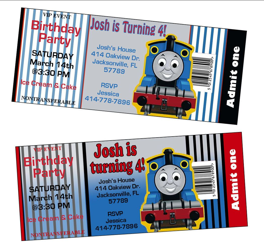 Admit+One+Ticket+style+Thomas+the+Train+by+MonCheriOriginals,+$8.50 ...