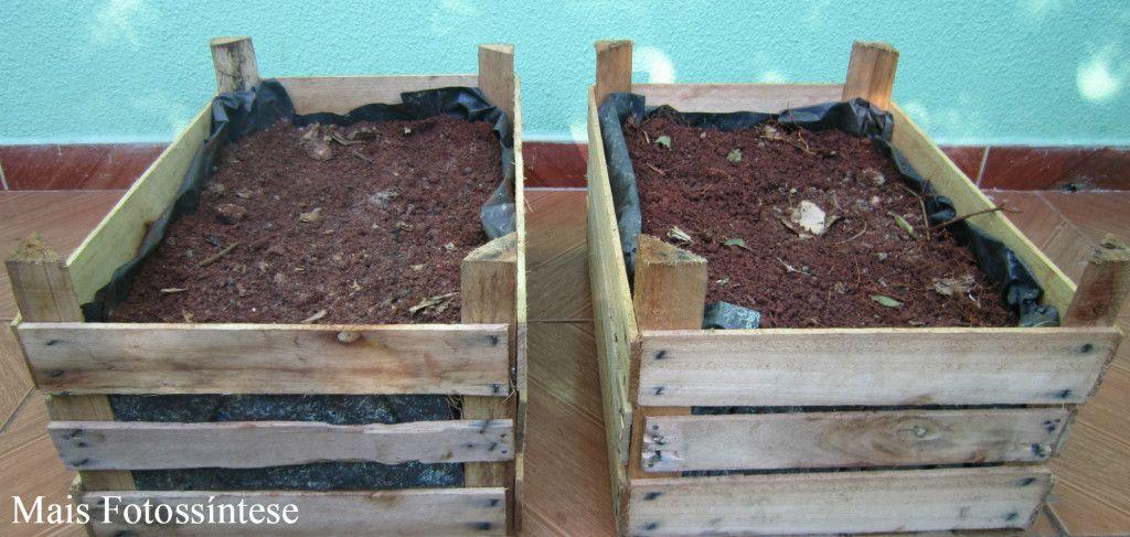 Como preparar caixas de madeira (tipo Torito) para cultivar Plantas