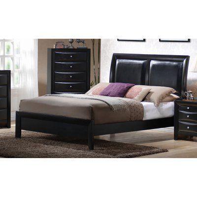 Coaster Furniture Briana Upholstered Platform Bed, Size California