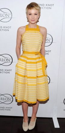 Carey Mulligan Style | Get her look on today's blog