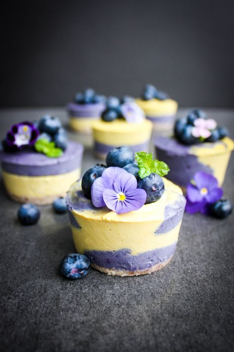 Maqui Mango Vegan Cheesecakes A delicious whole food and dairy free dessert