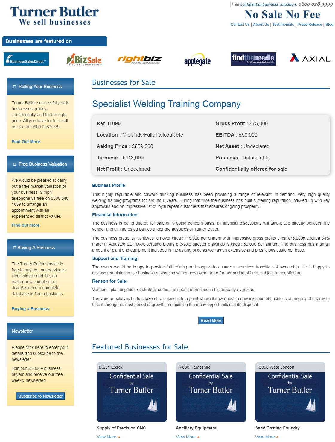 Are you searching to buy welding training businesses for