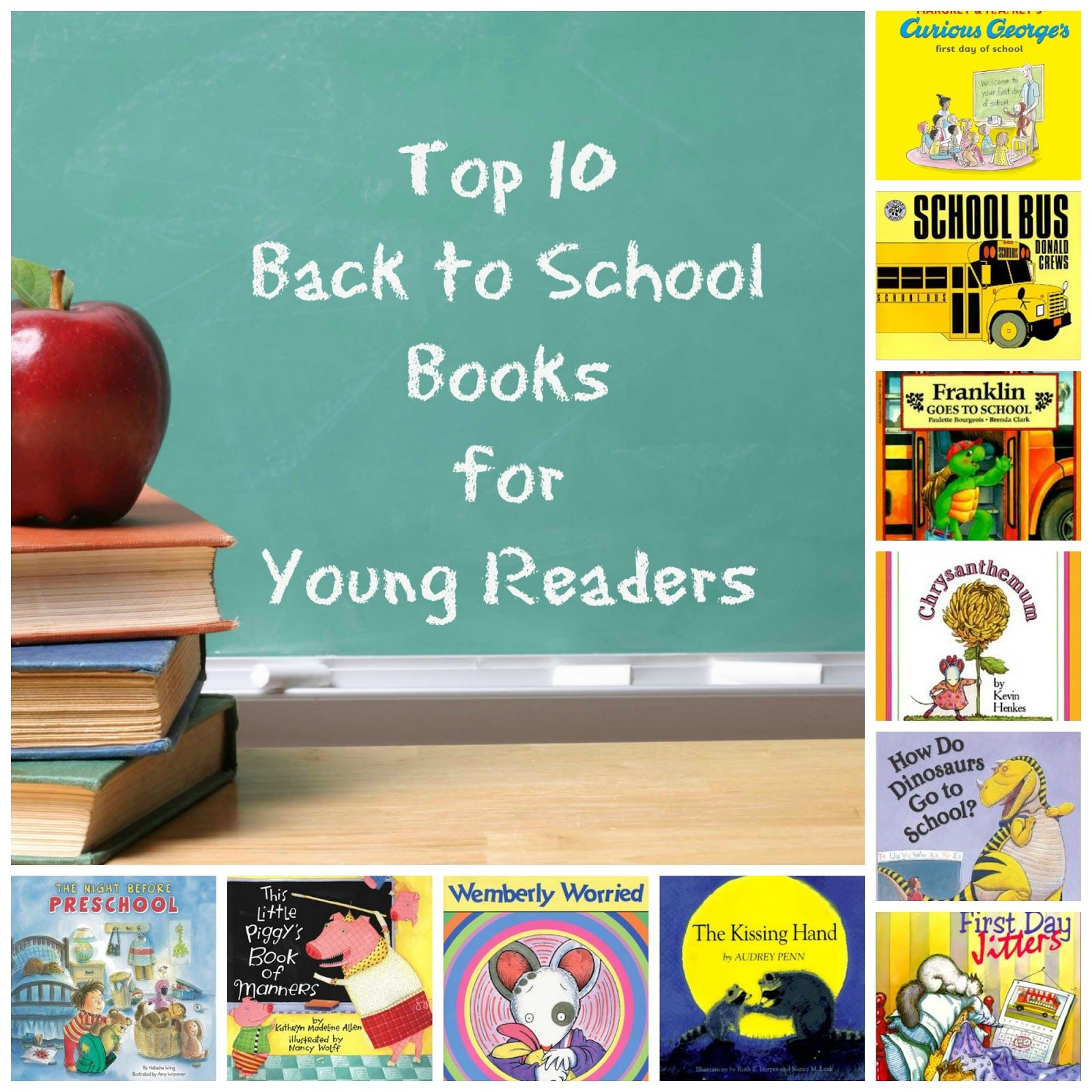Top Ten Back To School Books